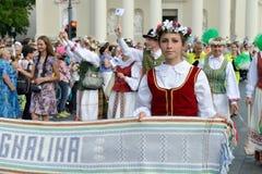 Литовское торжество песни стоковое изображение
