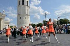 Литовское торжество песни стоковые фото