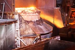 Литое железо или металл Стоковое фото RF