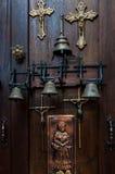 Литое железо и латунь Стоковая Фотография