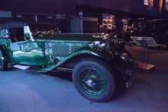 Литр 1932 Bentley 8 зеленого цвета Корсика Стоковое фото RF