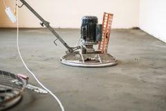 Лить бетонная плита Стоковые Фотографии RF