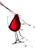 Лить вино Стоковые Изображения RF