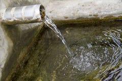 Лить вода Стоковая Фотография RF