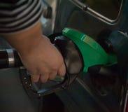 Лить газ стоковое изображение rf