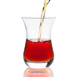 Лить чашек чаю Стоковое фото RF