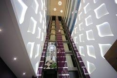Лифты в лобби Стоковое Изображение