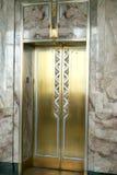 Лифты латуни стиля Арт Деко стоковая фотография rf