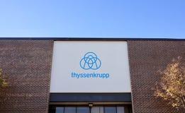 Лифты Thyssen Krupp, Мемфис, TN стоковое фото