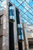 Лифт в современном здании стоковое фото