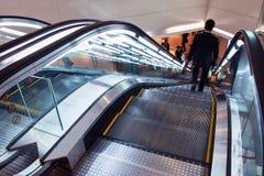 Лифт в торговых центрах Стоковое Фото