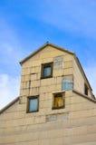 Лифт зерна против голубого неба Стоковые Изображения RF