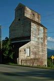 Лифт зерна, Creston ДО РОЖДЕСТВА ХРИСТОВА, Канада. Стоковая Фотография