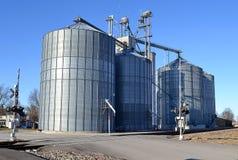 Лифт зерна Midwest Стоковое Изображение