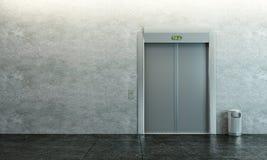 лифт самомоднейший Стоковое Фото