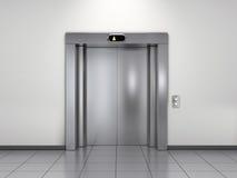 лифт самомоднейший иллюстрация штока