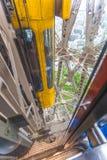 Лифт Эйфелевых башен Стоковая Фотография RF