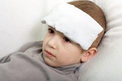 лихорадка ребенка Стоковая Фотография RF
