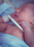 Лихорадка младенца Стоковые Фотографии RF