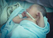 Лихорадка младенца Стоковые Фото