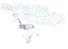 Лихорадка птицы Стоковая Фотография RF