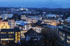Лихтенштейн vaduz Стоковое Изображение