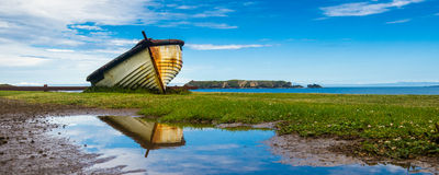 Лихтер Острова Норфолк Стоковое Изображение