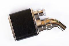 Лихтер сигареты изолированный на белой предпосылке Стоковое Изображение RF