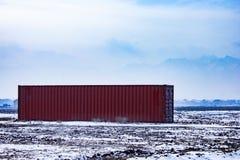 Лицевая сторона грузового контейнера Стоковое Изображение RF