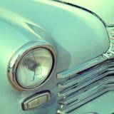 Лицевая часть старого автомобиля 60s Стоковые Фото