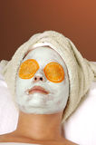 лицевое skincare маски Стоковые Фотографии RF