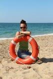 Личная охрана девушки Стоковая Фотография RF