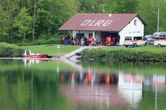 Личная охрана озера Стоковое фото RF