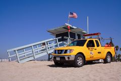 личная охрана venice хаты пляжа Стоковое Изображение RF