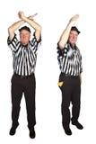Личное нарушение правил игры, Roughing проезжий Стоковое фото RF