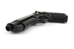 личное огнестрельное оружие 9mm Стоковая Фотография