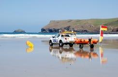 личные охраны пляжа Стоковые Изображения