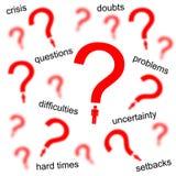 личные проблемы Стоковое Изображение