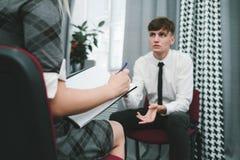 Личный босс занятости офиса консультации стоковые фотографии rf