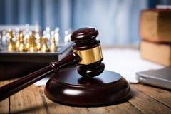 Личный кабинет юриста, судей и другого Стоковая Фотография RF
