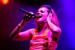 Лилия Ален (вручитель певицы, песенника, музыканта, актрисы и телевидения) Стоковые Фото