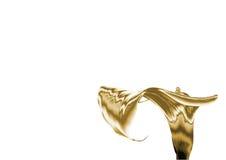 Лилия золота Стоковая Фотография RF