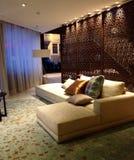 Лобби гостиницы в Барселоне, Испании Стоковое Изображение