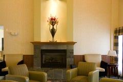 Лобби гостиницы стоковые изображения rf