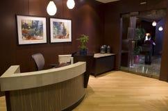 Лобби гостиницы 1000 Стоковое фото RF