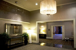 Лобби гостиницы Alexis Стоковые Фото