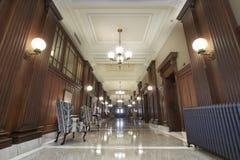 лобби зала судебных заседаний Стоковое фото RF