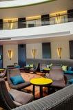 Лобби и салон гостиницы Стоковые Изображения RF
