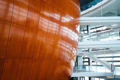 Лобби оперного театра Копенгагена Стоковое фото RF