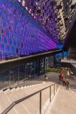 Лобби оперного театра Reykjavik Стоковое фото RF